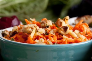 Shredded Carrot Salad